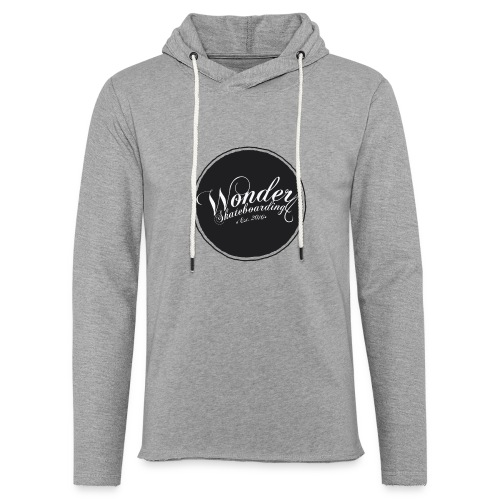 Wonder T-shirt - oldschool logo - Let sweatshirt med hætte, unisex