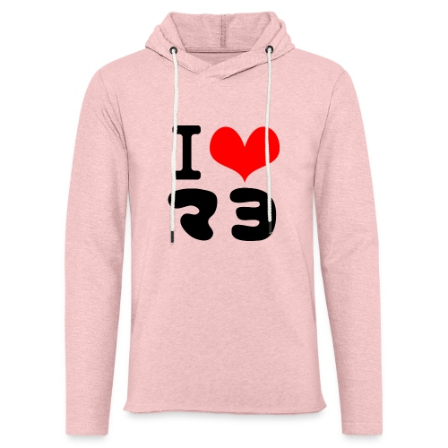 I Love MAYO(J) - Light Unisex Sweatshirt Hoodie