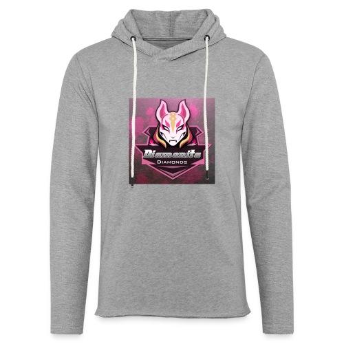 dia icon - Let sweatshirt med hætte, unisex