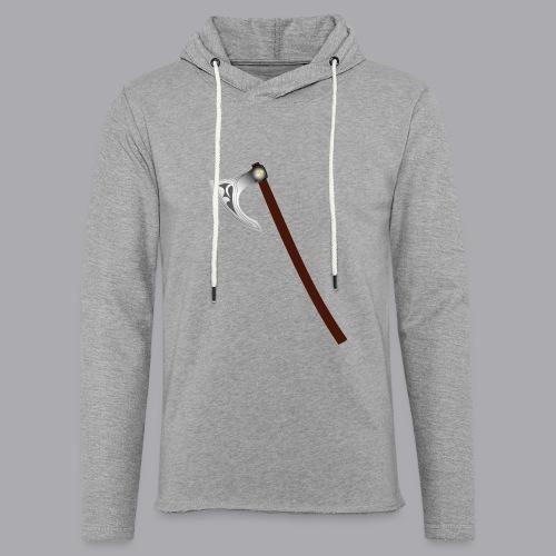 Wikinger Beil - Leichtes Kapuzensweatshirt Unisex