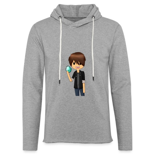 Minecraft Cartoon - Let sweatshirt med hætte, unisex