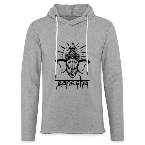 Ganesha - Leichtes Kapuzensweatshirt Unisex