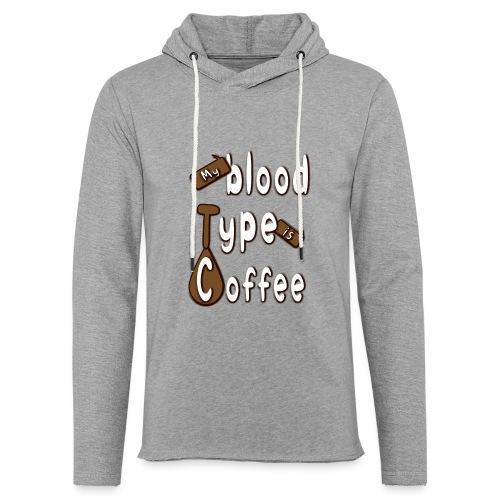 Blood Coffee - Kevyt unisex-huppari