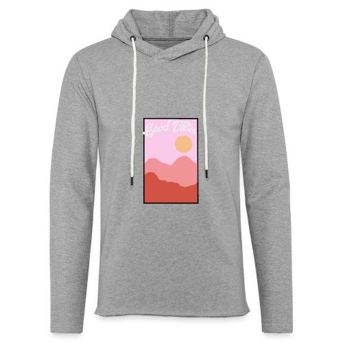 Good vibes - Lichte hoodie unisex