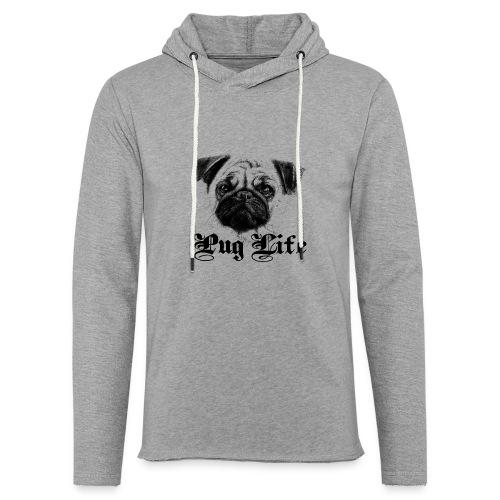 La vie de carlin - Sweat-shirt à capuche léger unisexe