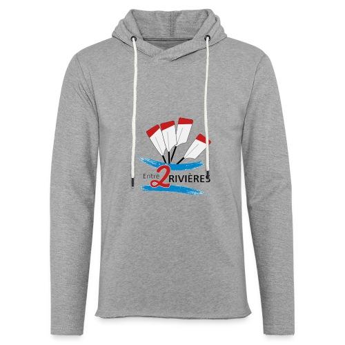 Entre 2 Rivières - Sweat-shirt à capuche léger unisexe