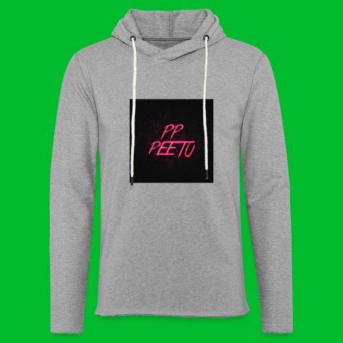 Ppppeetu logo - Kevyt unisex-huppari