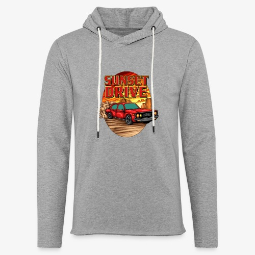 Sunset Drive - Leichtes Kapuzensweatshirt Unisex