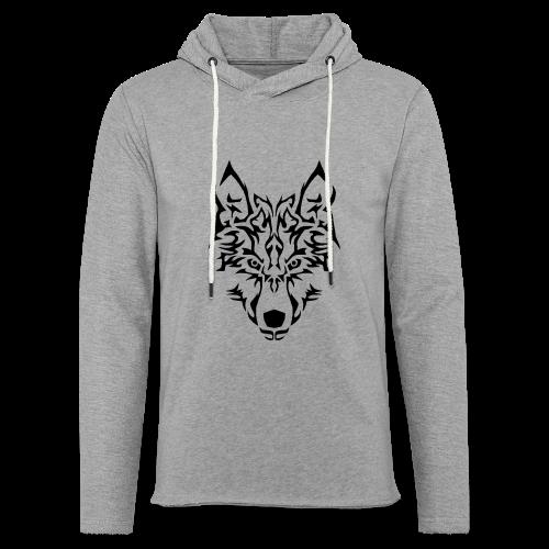 Tribal Wolf - Sweat-shirt à capuche léger unisexe