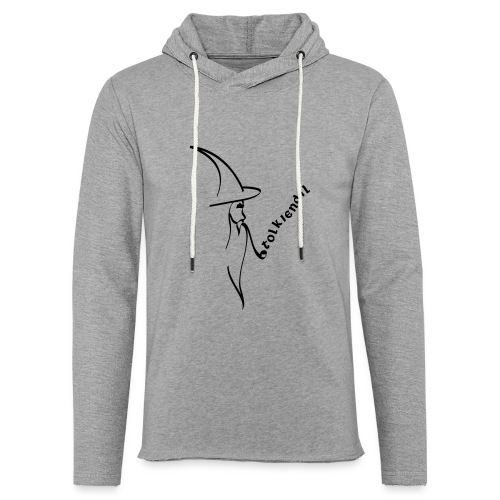 Tolkiendil & Magicien - Sweat-shirt à capuche léger unisexe