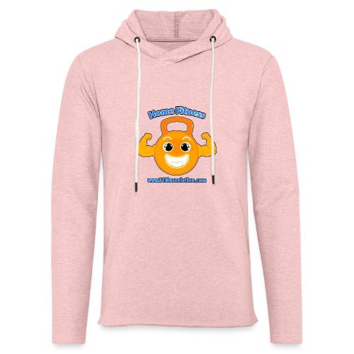 Logo 01Musculation Home Fitness Kettlebell - Sweat-shirt à capuche léger unisexe