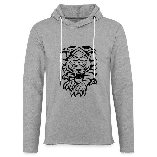 Tiger - Leichtes Kapuzensweatshirt Unisex