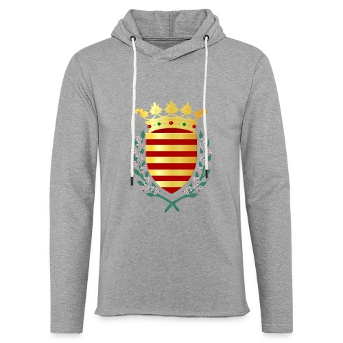 Wapenschild Borgloon - Lichte hoodie unisex