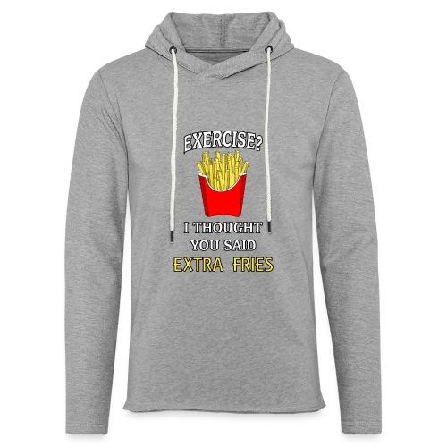 Extra Fries - Leichtes Kapuzensweatshirt Unisex