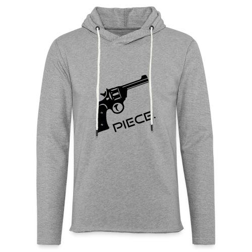 Waffe - Piece - Leichtes Kapuzensweatshirt Unisex