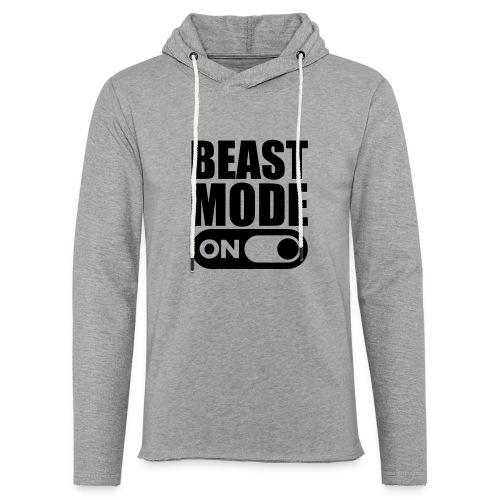BEAST MODE ON - Light Unisex Sweatshirt Hoodie