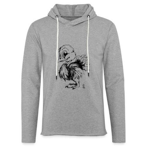 Autruchon - Sweat-shirt à capuche léger unisexe