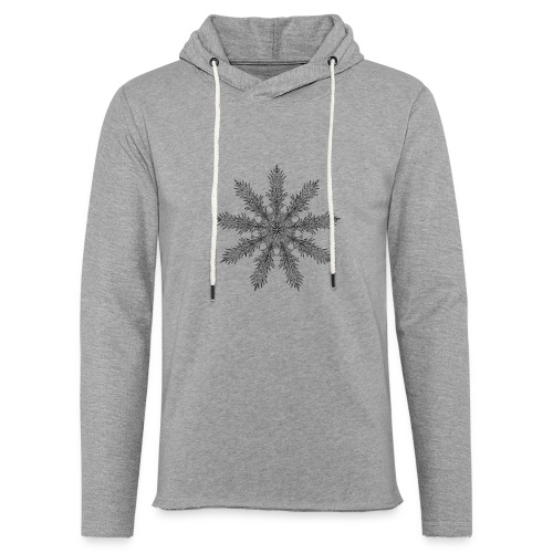 Magic Star Tribal #4 - Light Unisex Sweatshirt Hoodie
