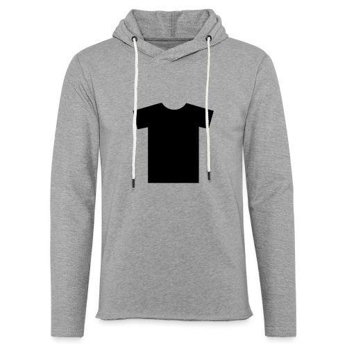 t shirt - Sweat-shirt à capuche léger unisexe