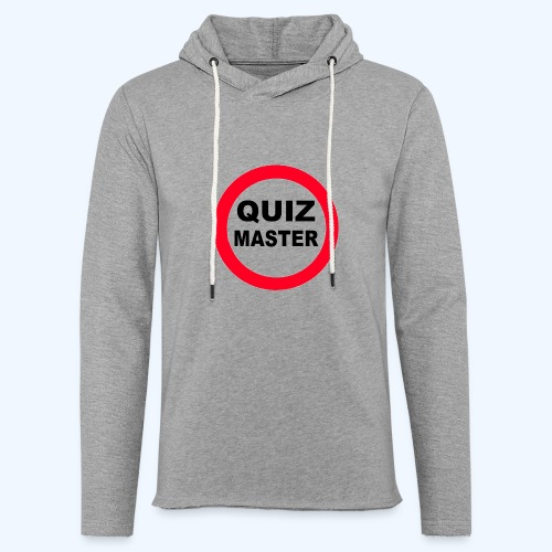 Quiz Master Stop Sign - Light Unisex Sweatshirt Hoodie