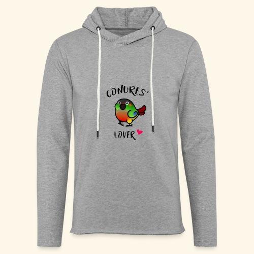 Conures' Lover: opaline - Sweat-shirt à capuche léger unisexe