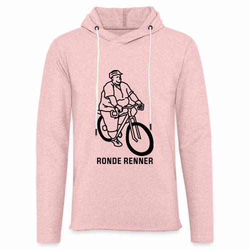 Ronde Renner - Lichte hoodie unisex