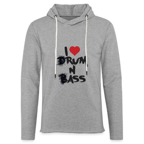 I <3 Rum N Ass - Sweat-shirt à capuche léger unisexe