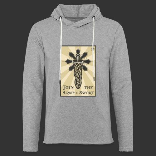 Join the army jpg - Light Unisex Sweatshirt Hoodie