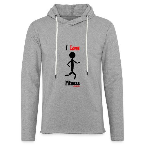 Fitness #FRASIMTIME - Felpa con cappuccio leggera unisex