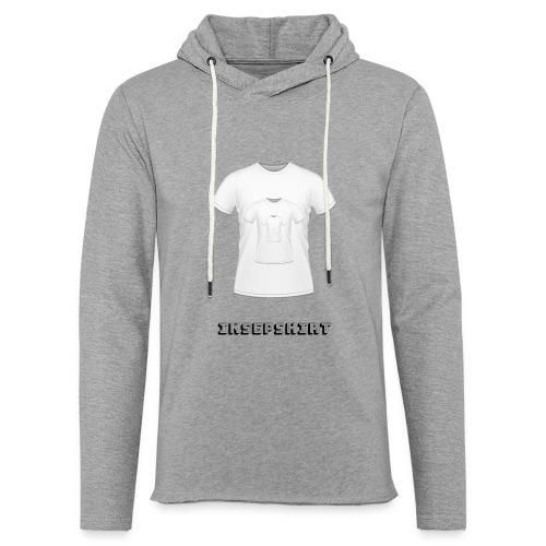 insepshirt - Sweat-shirt à capuche léger unisexe