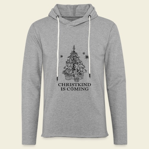 Christkind kommt - Leichtes Kapuzensweatshirt Unisex