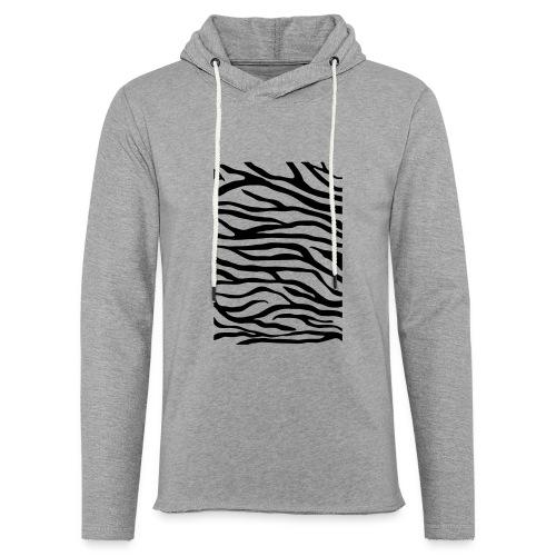 zebra v6 - Lichte hoodie unisex