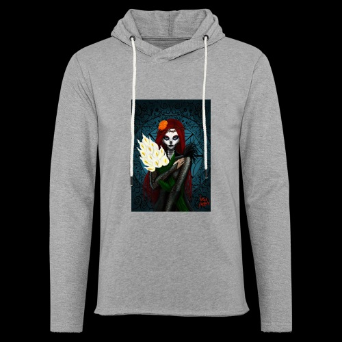 Death and lillies - Light Unisex Sweatshirt Hoodie