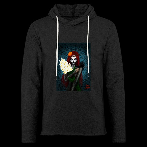 Death and lillies - Light Unisex Sweatshirt Hoodie