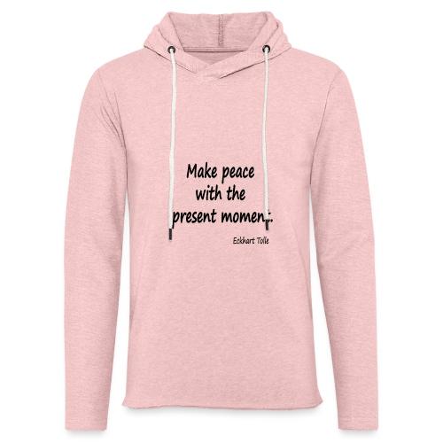 Make Peace - Light Unisex Sweatshirt Hoodie