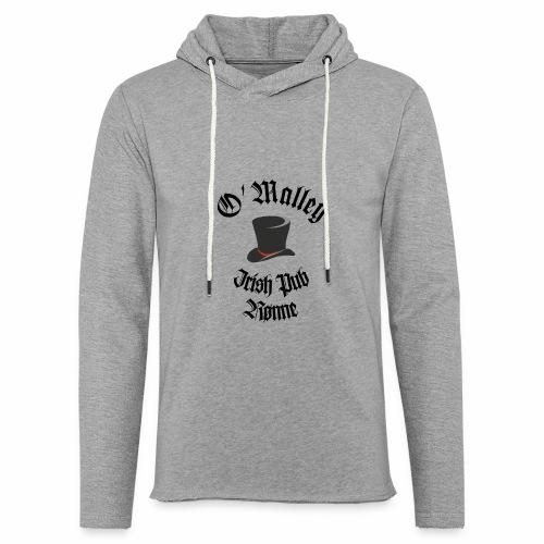 O Malley Logo 2020 - Let sweatshirt med hætte, unisex