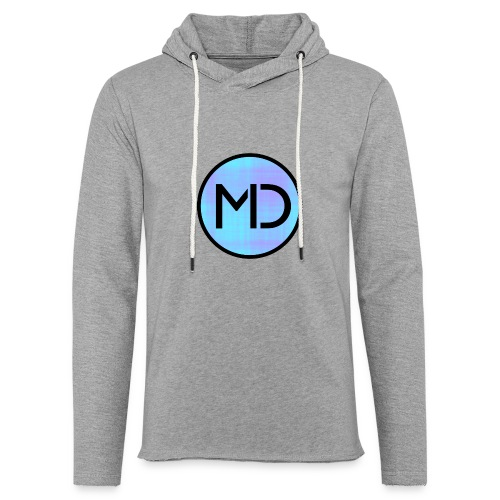 MD Blue Fibre Trans - Light Unisex Sweatshirt Hoodie