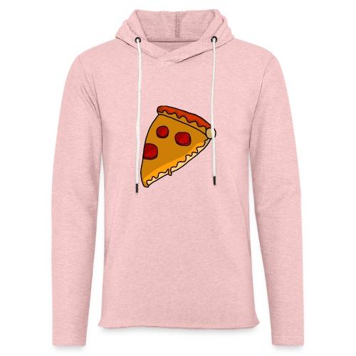 pizza - Let sweatshirt med hætte, unisex