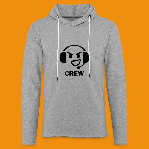 T-shirt-front - Let sweatshirt med hætte, unisex