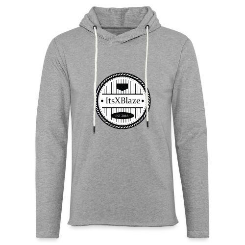 ItsXBlaze Logo 3 White V-Neck Option 2 - Lichte hoodie unisex