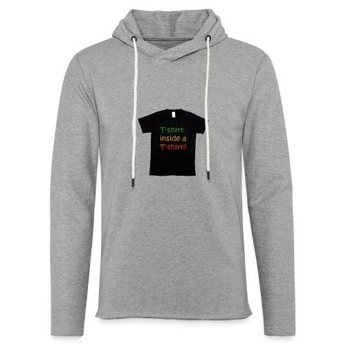 mars-one-drawing-tshirt-black - Let sweatshirt med hætte, unisex
