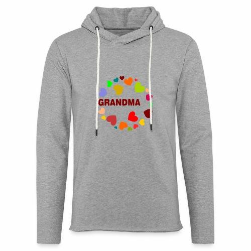 Grandma - Leichtes Kapuzensweatshirt Unisex