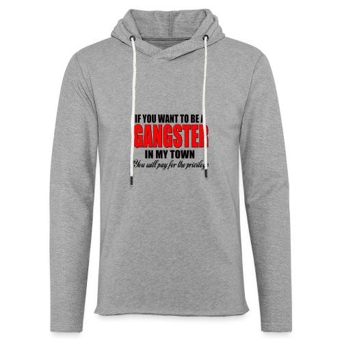 ville gangster - Sweat-shirt à capuche léger unisexe