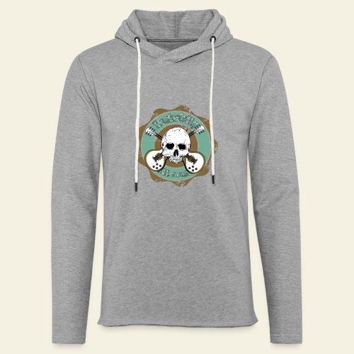Rockabilly Still Rockin - Let sweatshirt med hætte, unisex