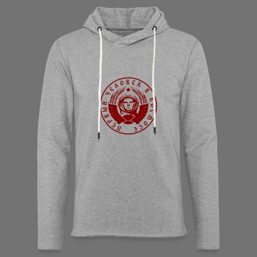 Czerwony kosmonauta 1c - Lekka bluza z kapturem