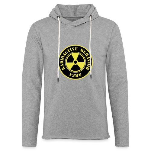 Radioactive Behavior - Sudadera ligera unisex con capucha