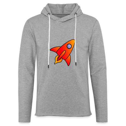 Red Rocket - Light Unisex Sweatshirt Hoodie