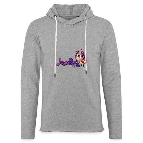 JuneBugDK - Let sweatshirt med hætte, unisex