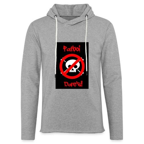 Fatboi Dares's logo - Light Unisex Sweatshirt Hoodie