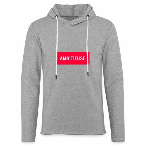 AMBITIEUSE - Sweat-shirt à capuche léger unisexe